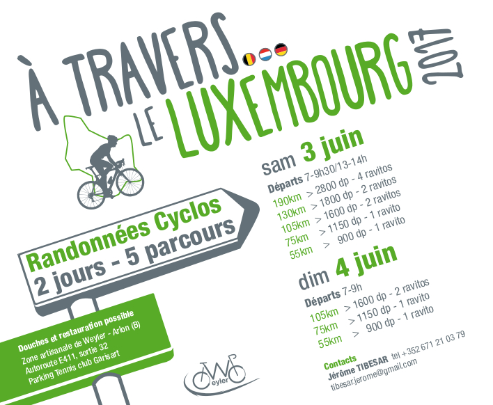 A travers le Luxembourg 2017