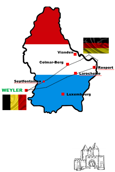 Belgique - Luxembourg - Allemagne